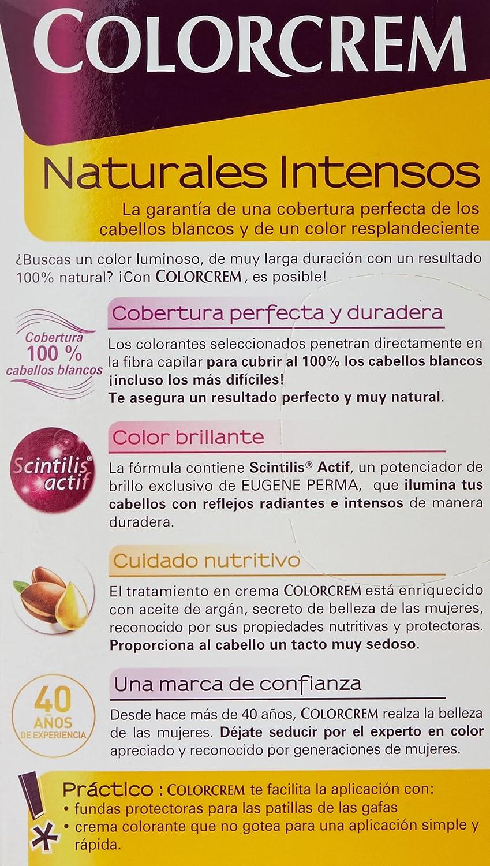 Colorcrem Color & Brillo Tinte Capilar Naturales Intensos Color Rubio Claro Ceniza