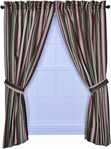 Ellis Curtain Montego Stripe 82-Inch