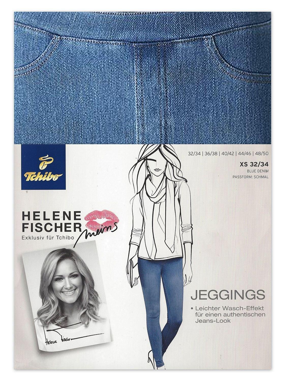 schnüren in genießen Sie besten Preis verkauft Tchibo TCM Damen Jeans Jeggings Treggings Hose Blue Denim ...