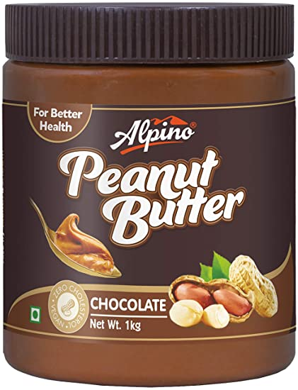 Alpino Peanut Butter, Chocolate 1kg