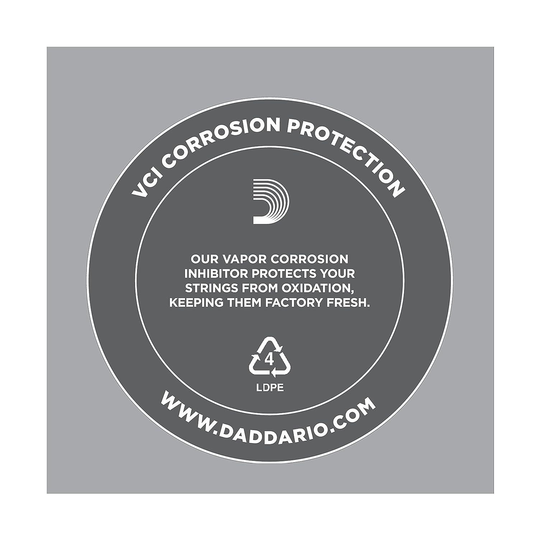 0.508 mm Cuerda individual de acero liso para guitarra DAddario PL020