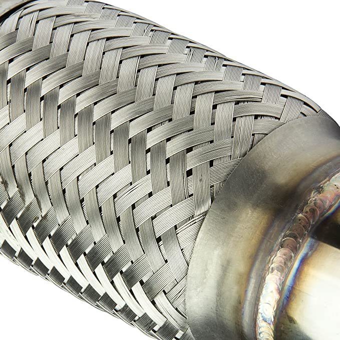 "Rev9 50/"" 90 Degree Turbo Oil Feed Line Stainless Steel T3 T3T4 T60 T71 T04E"