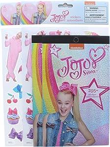 4 Pk. JoJo Siwa 3D Sticker Sheet 20+ Stickers and 295+ Stickers (600+ Stickers Total)