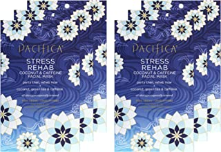 product image for Pacifica Beauty Stress Rehab Coconut & Caffeine Hydrating Facial Sheet Mask, 6 Count