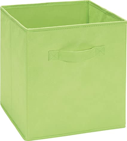 Beau SystemBuild Fabric Storage Bin, Lime Green