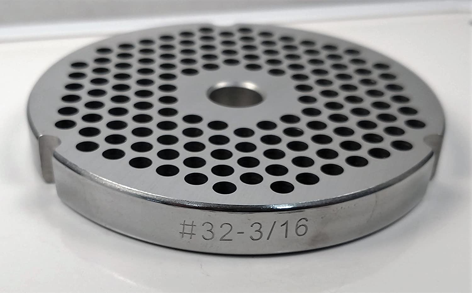 Food Service Knives #32 Meat Grinder Plate (3/16 in.)