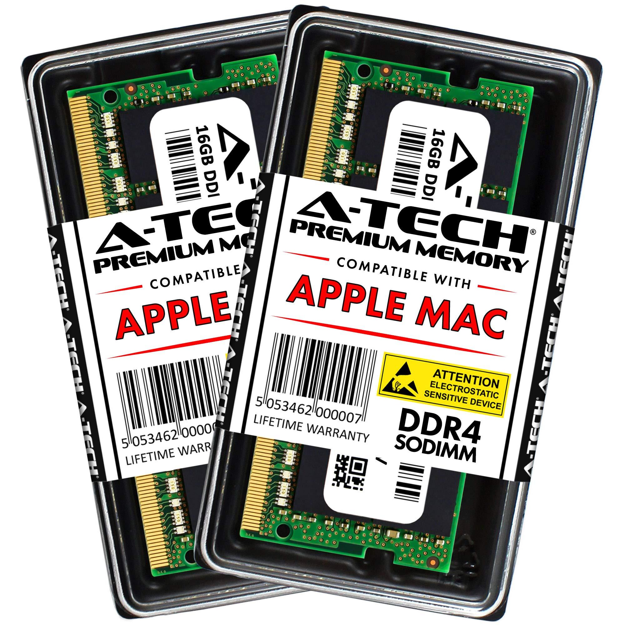 Memoria RAM 32GB A-Tech Kit (2 x 16GB) para 2019 Apple iMac 27 inch Retina 5K (iMac191 A2115) 2018 Apple Mac Mini (Macmi