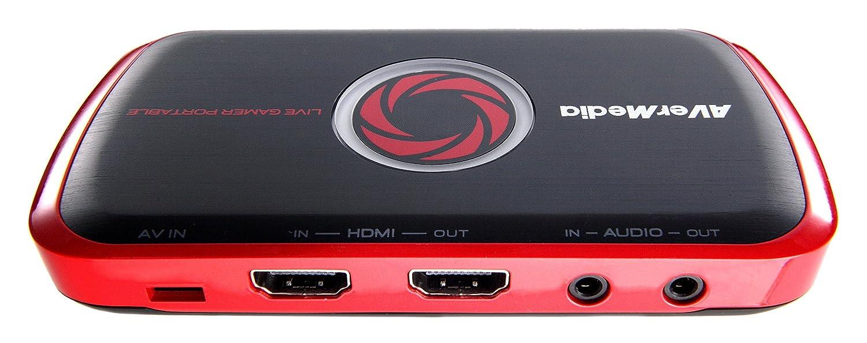 AverMedia Live Gamer Portable Capturadora de juegos portátil HDMI grabación tarjetas SD