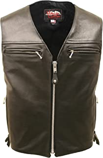 product image for Elite Leather Vest (38 Long / Tall)