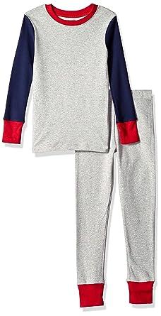 62c8b73b61 Amazon.com  Amazon Essentials Kids  2-Piece Pajama Set  Clothing