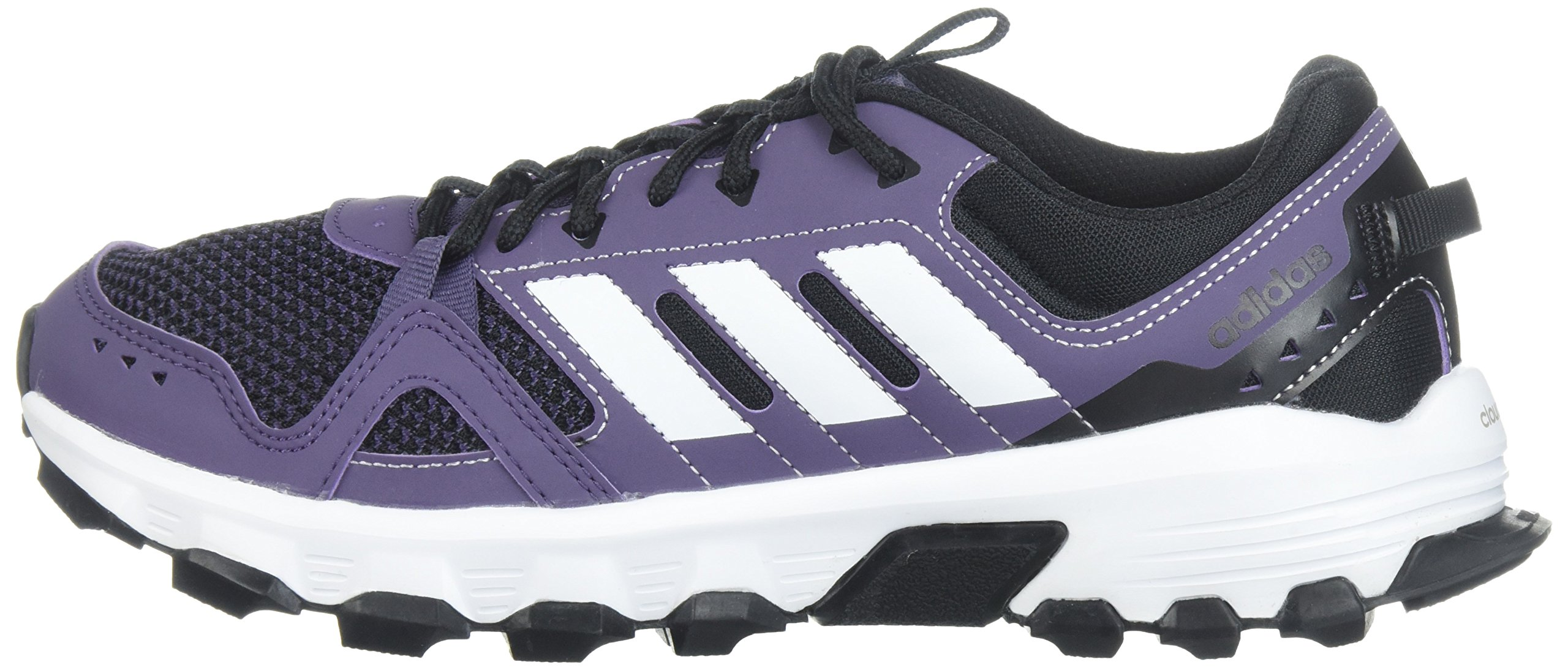 adidas Women's Rockadia w Trail Running Shoe, Trace Purple/White/Core Black, 7 M US by adidas (Image #5)