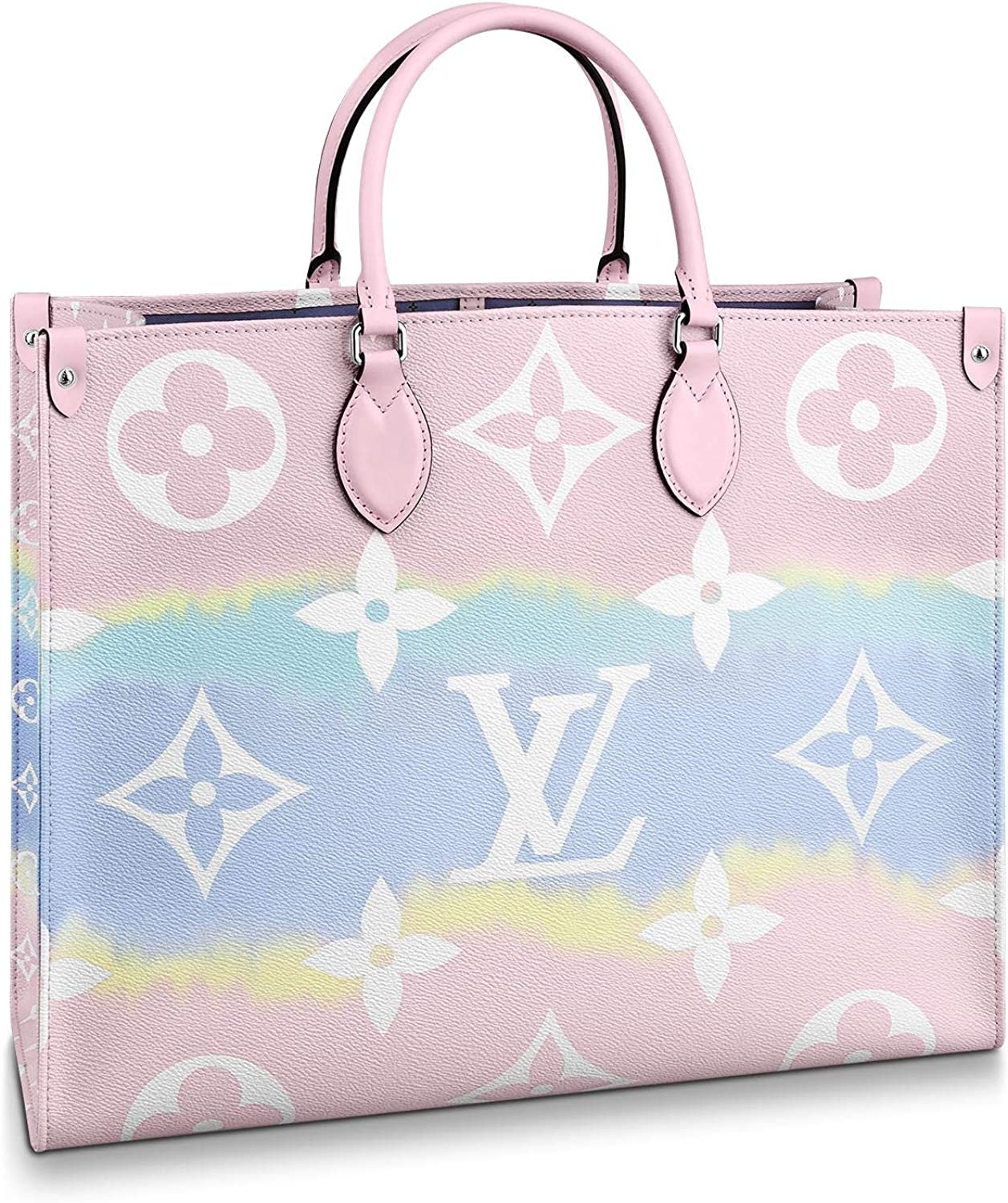 Amazon Com Louis Vuitton Lv Escale Onthego Gm Pastel Tote Bags Limited Edition Purse Handbags Shoes