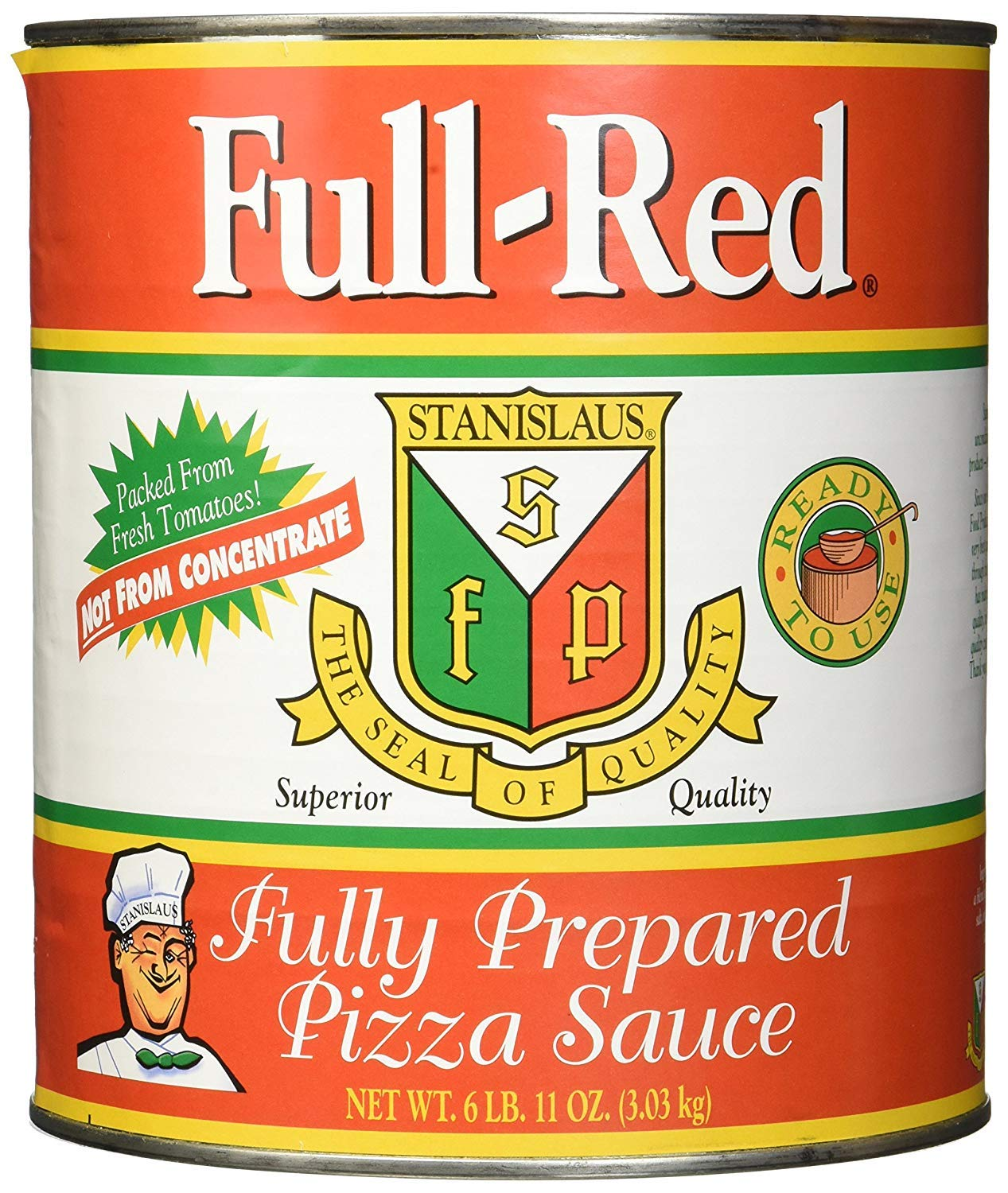 Full Red Pizza Sauce review