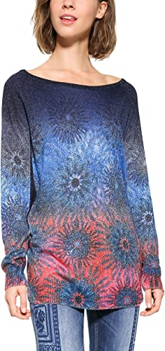 TALLA XS. Desigual Jers_Basic Carlin suéter para Mujer
