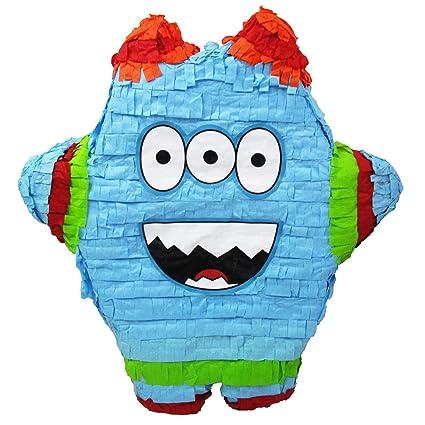 Amazon.com: Funny Monster Piñata, juego de fiesta ...
