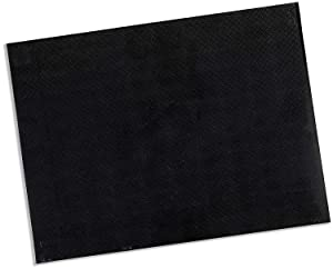 "Rolyan Splinting Material Sheet, Aquaplast-T Watercolors, Charcoal Grey, 1/16"" x 18"" x 24"", 19% OptiPerf Perforated, Single Sheet"