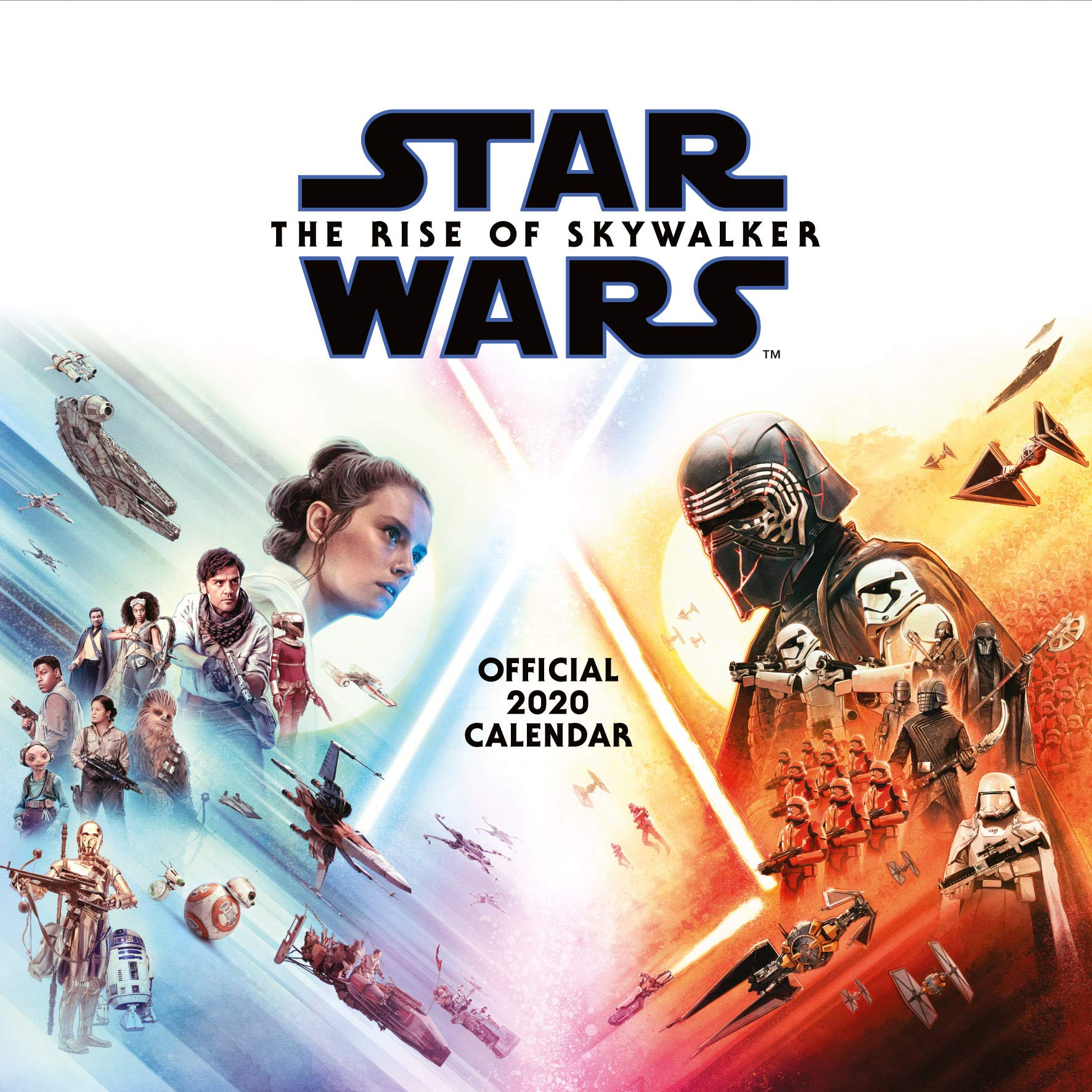 Star Wars Episode 9 2020 Calendar Official Square Wall Format Calendar 9781838540906 Amazon Com Books
