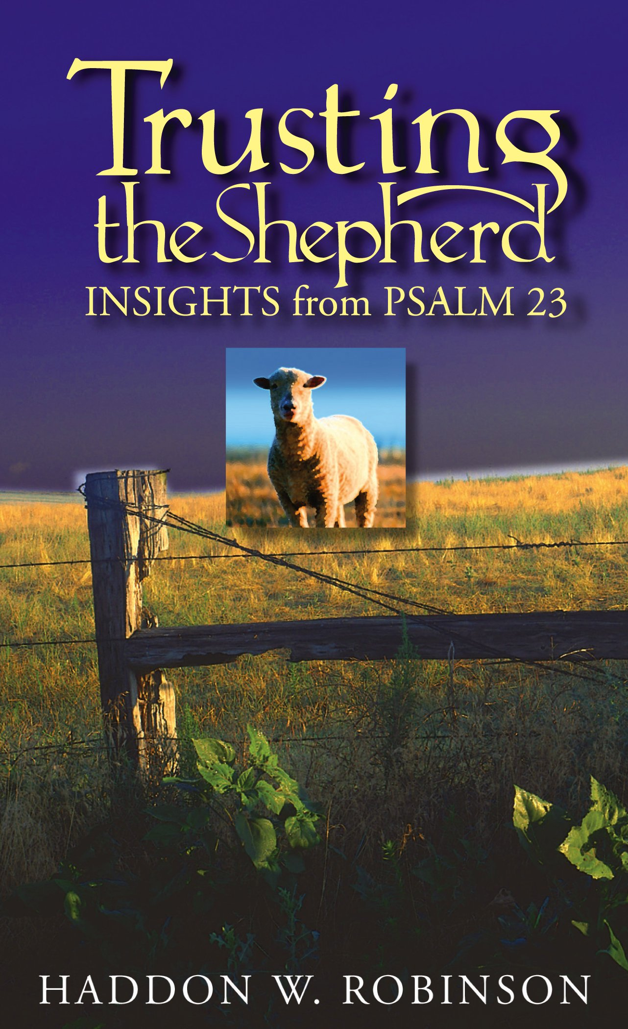 Download Trusting the Shepherd: Insights from Psalm 23 Text fb2 book