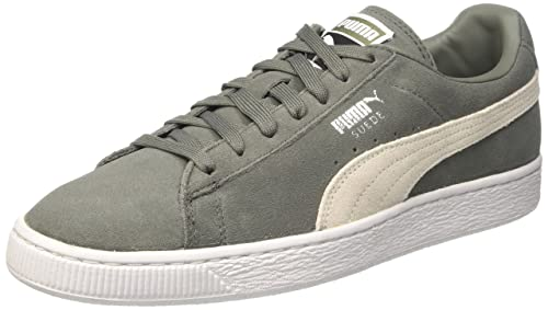 Puma Unisex Adulti Suede Classic Low Top Scarpe da ginnastica Black Dark Shadow Uk 9