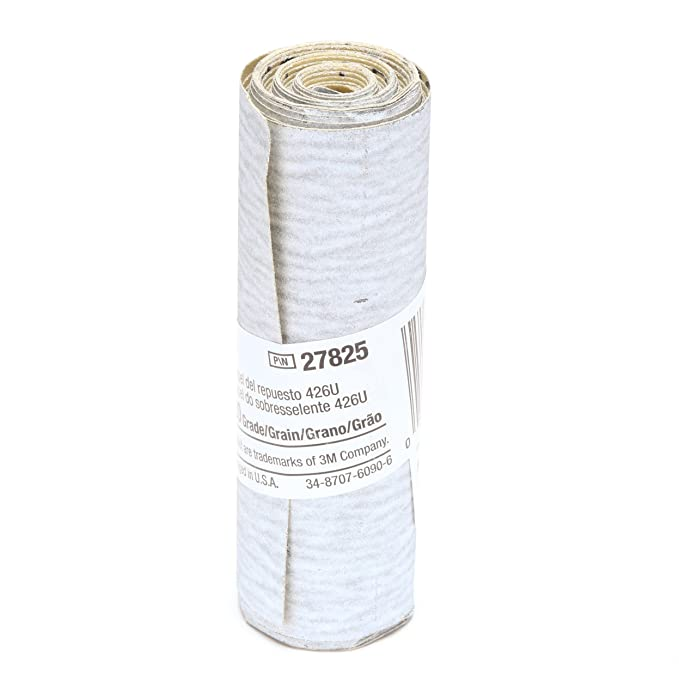 Gray Pack of 10 Silicon Carbide 2-1//2 Width x 70 Length 3M Stikit Paper Refill Roll 426U 120 Grit