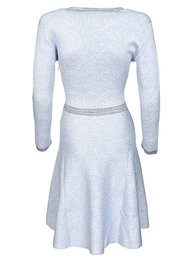 Dior Mujer 7C24635am537557 Azul Claro Seda Vestido: Amazon.es: Ropa y accesorios