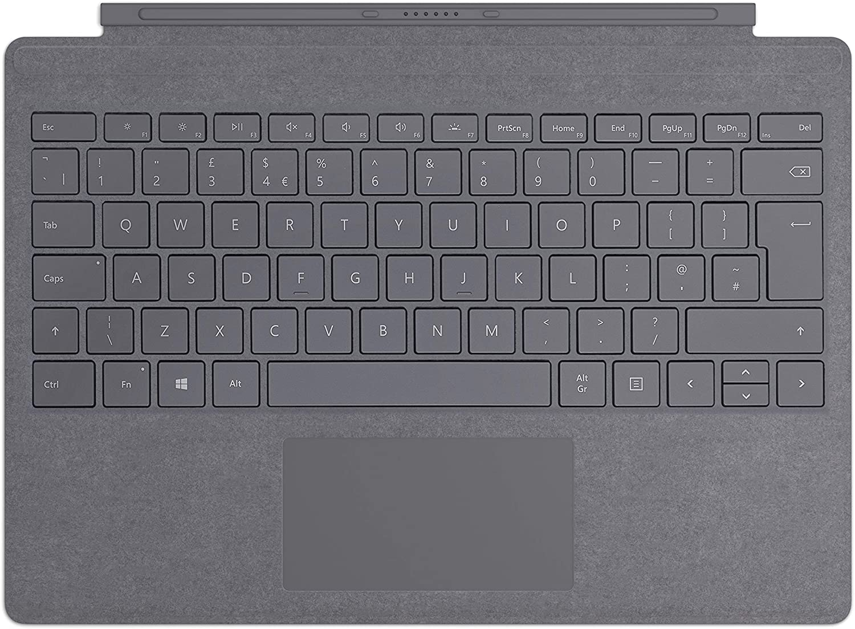 Microsoft - Funda con Teclado Surface Pro Signature Type Cover carbón