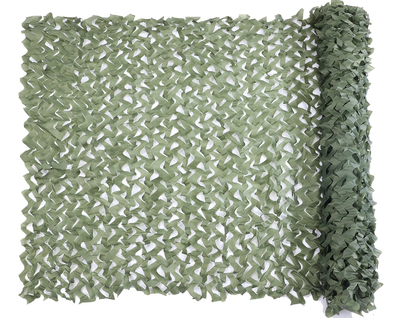 Camo Netting, Camouflage Net Green 5 X 6.56 FT Nets Lightweight Durable for Sunshade Decoration Hunting Blind Shooting