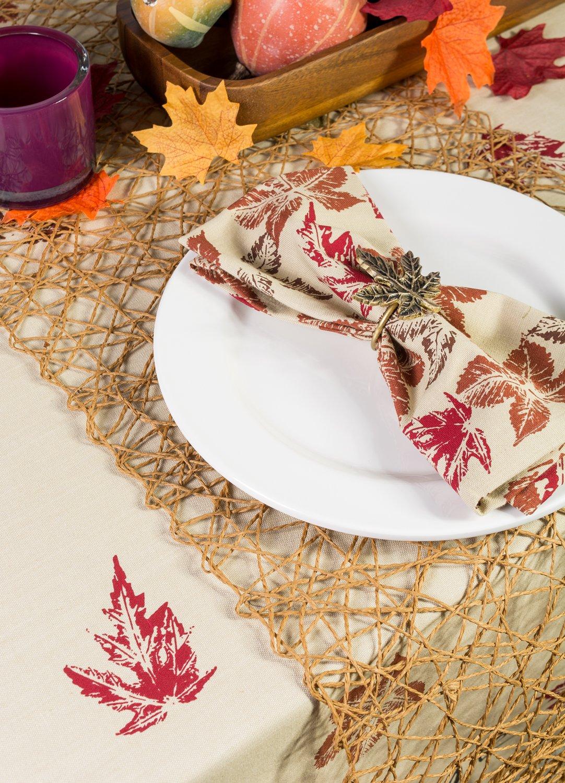 DII 100/% Cotton Pumpkin Spice Oversized Basic Fall /& Holiday 20x 20 Napkin CAMZ37655 Set of 6 Oversized Basic Fall /& Holiday 20x 20 Napkin