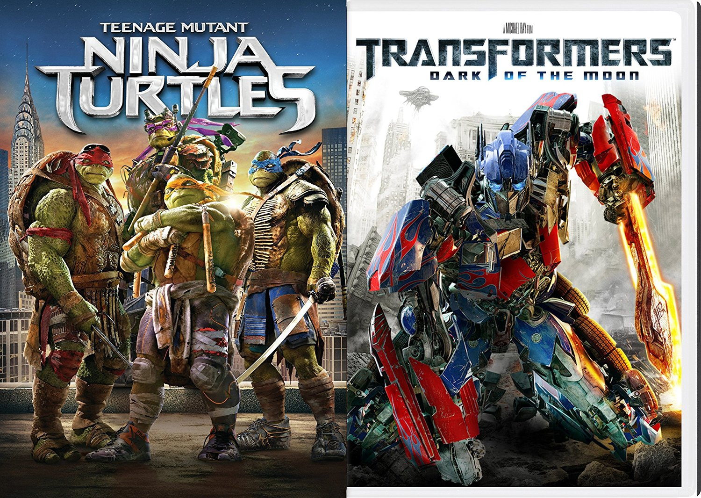 Amazon.com: Transformers Dark of the Moon & Teenage Mutant ...