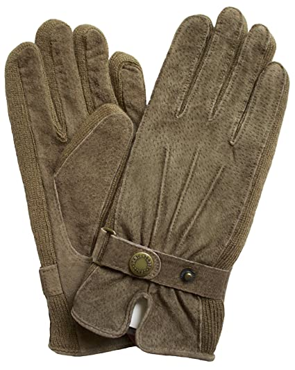 b37d736ed2c75 Dents Ladies Suede Leather Gloves with Knitted Sides: Amazon.co.uk: Clothing