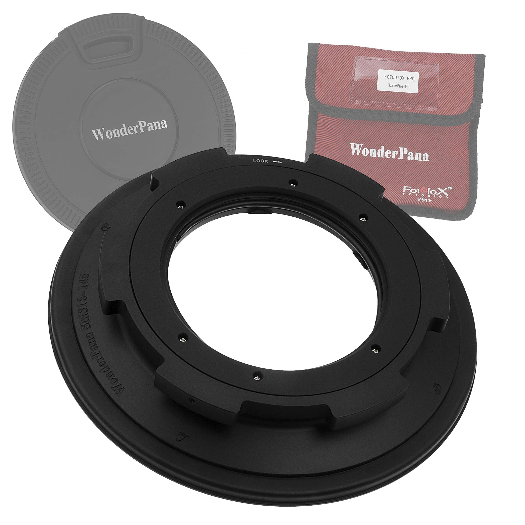 WonderPana Classic 145mm Filter Holder for Sigma 8-16mm f/4.5-5.6 DC HSM Ultra-Wide Zoom Lens by Fotodiox