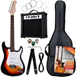 Kit Chitarra elettrica, 7 pezzi, Sunburst -Rocktile Banger's Pack