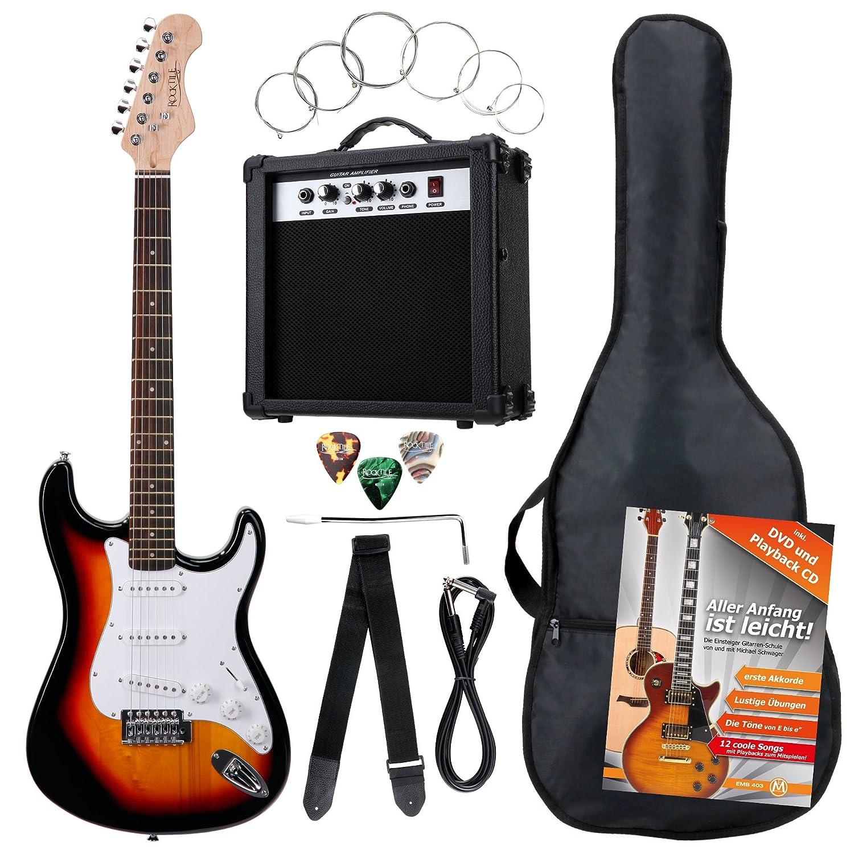 Pack de 7 piezas guitarra eléctrica