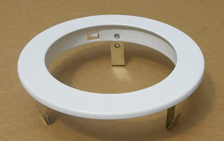 4 inch recessed ceiling can light trim ring white amazon 4quot inch recessed ceiling can light trim ring white aloadofball Image collections