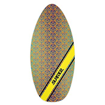 Wave Rebel Wood Skimboard