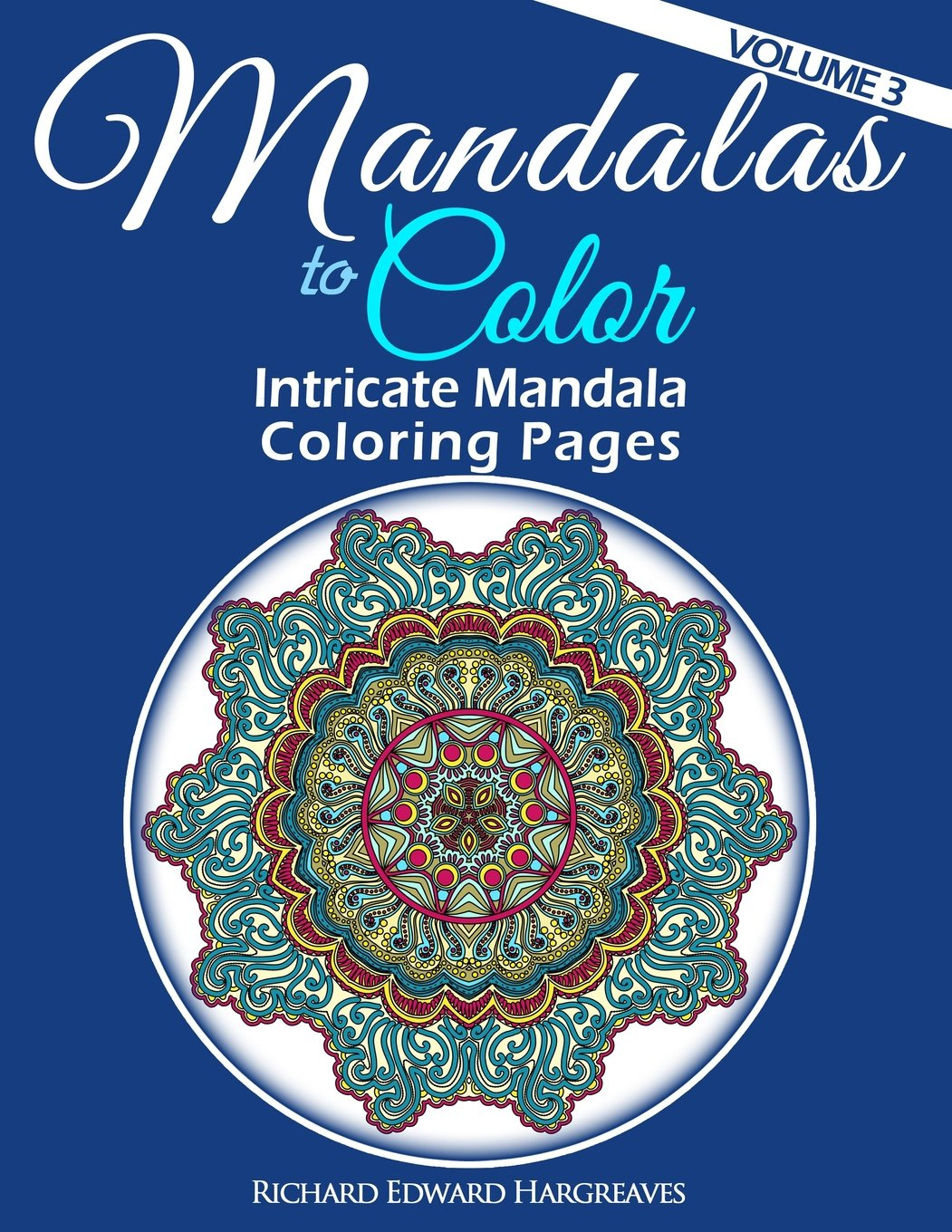 Amazoncom Mandalas To Color Intricate Mandala Coloring Pages
