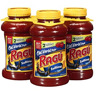 Ragu Traditional Spaghetti Sauce, 3 ct./45 oz.
