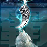 925 Sterling Silver Dragon Head Wolf Tooth