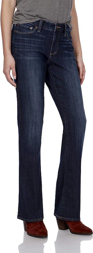 金盒特价 Lucky Brand 幸运牛仔 女式微喇牛仔裤 金盒特价$34.99起 三色可选 海淘转运到手约¥291 中亚Prime会员免运费直邮到手约¥296