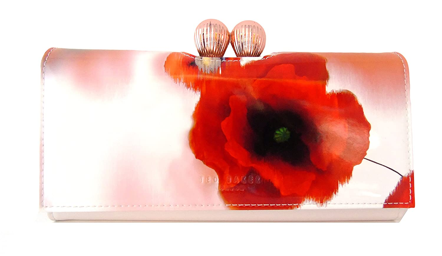 4688d0dd2 Ted Baker Purse Poppy Patent Red  Amazon.co.uk  Luggage