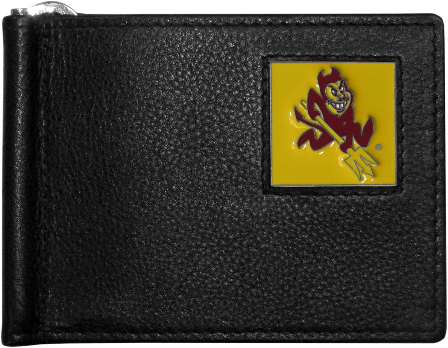 Siskiyou NCAA Leather Bill Clip Wallet