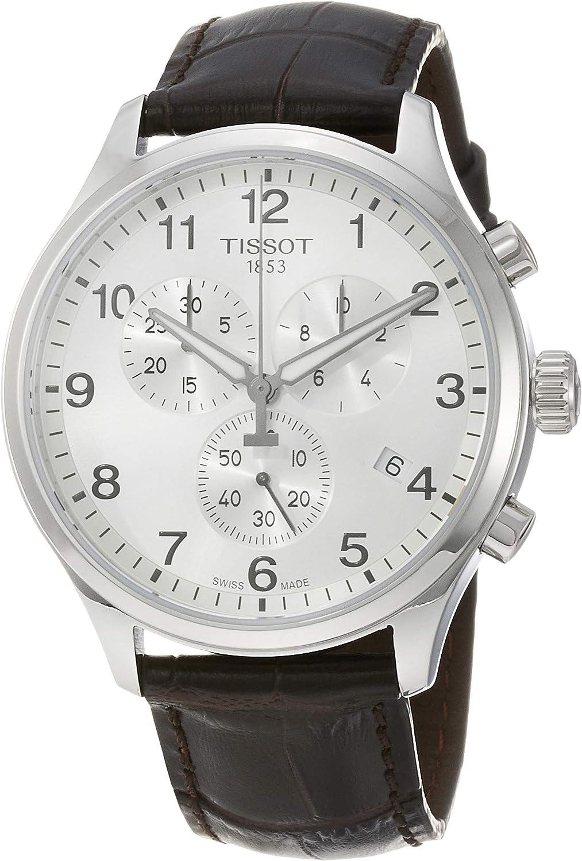 Tissot Reloj Cronógrafo para Hombre de Cuarzo con Correa en Cuero T1166171603700