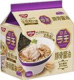 日清 ラ王 豚骨醤油 5食パック 490g×6袋