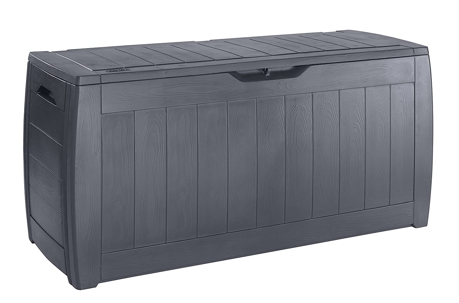 Chalet-Jardin 12 Hollywood Garden Storage Chest Charcoal Grey 270 L 12HOLLYWOOD 190023