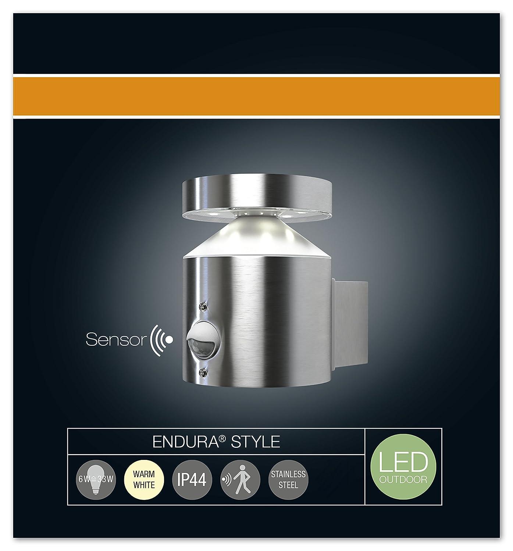 OSRAM Inox 6W Equivalent 33W Garantie 5 ans Plafonnier ext/érieur LED ENDURA STYLE