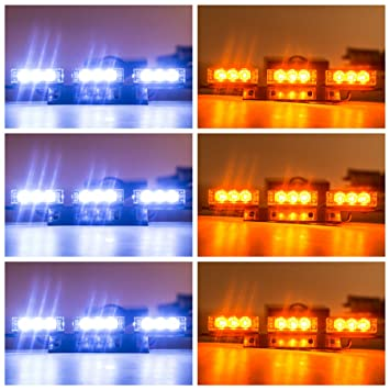 Amazoncom Orion Motor Tech LED Amber White Emergency - Car signs on dashboardlets be honest you have no idea what your car dashboard signs