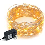 Swell Le Fairy Lights Waterproof 33 Ft 100 Led Plug In Soft Warm White Wiring Digital Resources Hetepmognl