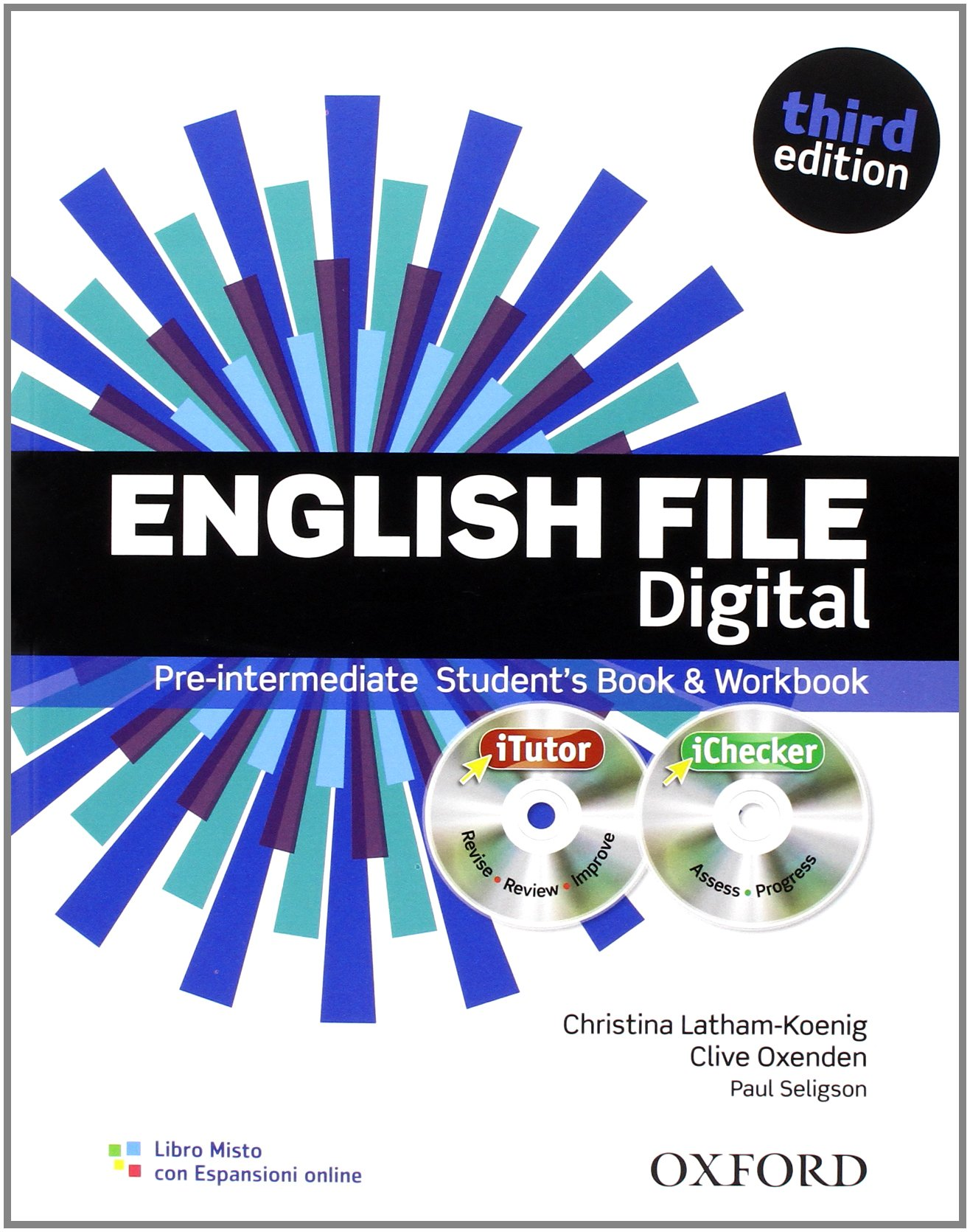 English file digital. Pre-intermediate. Student's book-Workbook. With keys. Per le Scuole superiori. Con espansione online Copertina flessibile – 1 gen 2012 Oxford University Press 0194598888 Inglese LINGUA INGLESE E ANGLOSASSONE