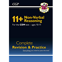 New 11+ CEM Non-Verbal Reasoning Complete Revision and Practice - Ages 10-11 : superb eleven plus preparation from the…