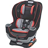 Graco Extend2Fit Convertible Car Seat | Ride Rear Facing Longer with Extend2Fit, Solar